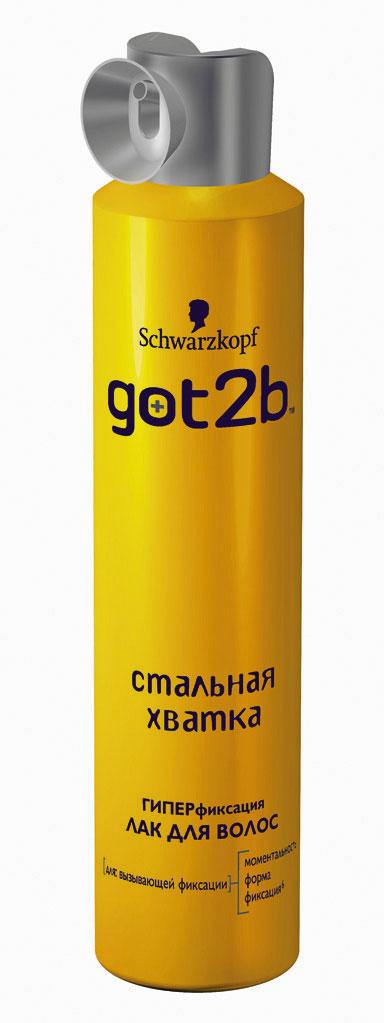 Got2b Лак для волос Стальная хватка, 300 мл9045010С помощью лака для волос Стальная хватка придай невообразимо сильную фиксацию укладке и зафиксируй. С ароматом зеленого яблока и лимона. Применение : равномерно распылить лак на уложенные волосы с расстояния 30 см. Для объема и дополнительной фиксации наноси непосредственно на выбранные участки волос. Характеристики: Объем: 300 мл. Артикул: 1427361. Производитель: Германия. Товар сертифицирован.
