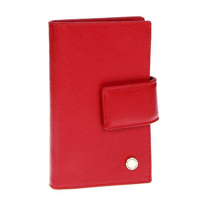 Портмоне женское Avanzo Daziaro, цвет: красный. 011IG-916004011IG-916004Портмоне Avanzo Daziaro - это стильный аксессуар, который благодаря своему дизайну и высокому качеству исполнения, блестяще подчеркнет тонкий вкус своей обладательницы. Портмоне выполнено из высококачественной натуральной кожи красного цвета с золотистой фурнитурой. Портмоне внутри содержит отделение для купюр, карман для мелочи на молнии, двенадцать наборных кармашков для визиток и кредитных карт и шесть карманов для мелких бумаг и чеков. Портмоне закрывается при помощи клапана на кнопку. Коллекция аксессуаров Avanzo Daziaro представлена в единой стилистике - строгий элегантный дизайн в сочетании с классической цветовой гаммой придает изделиям неповторимый шарм и магнетизм. Женские аксессуары из лимитированной коллекции Ignis обладают неповторимым шармом, навеяны дерзкими мечтами и потаенными желаниями, создают завораживающий образ уверенной в себе женщины, которая покоряет этот мир и вдохновляет мужчин. Характеристики: Материал: натуральная...