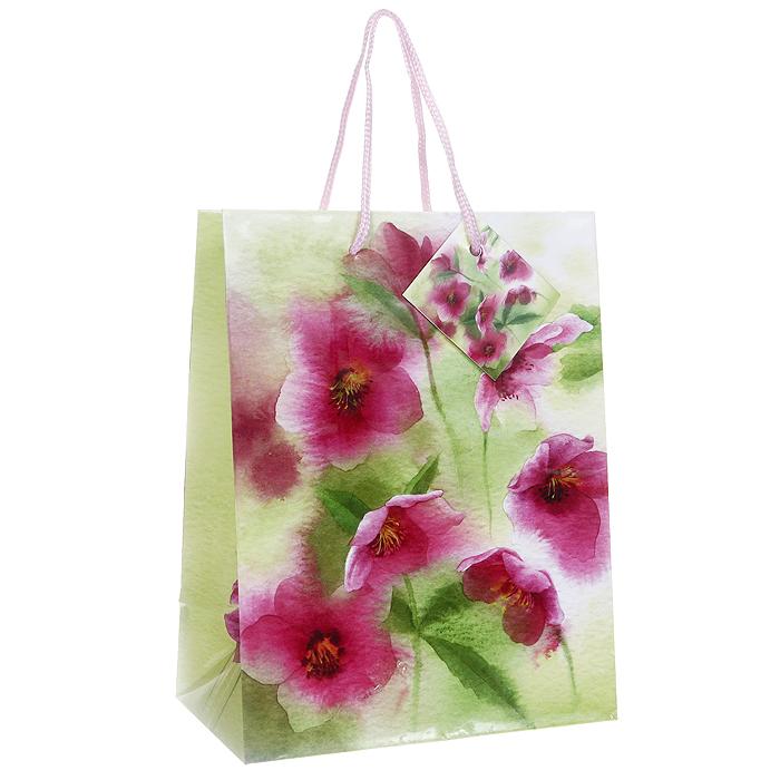 Пакет подарочный Цветы шиповника, 17,5 х 22,5 х 10 см Ф21-1459Ф21-1459Бумажный подарочный пакет Цветы шиповника станет незаменимым дополнением к выбранному подарку. Пакет оформлен изображением розовых цветов на сочно-зеленом фоне. Для удобной переноски на пакете имеются две ручки из шнурков. Подарок, преподнесенный в оригинальной упаковке, всегда будет самым эффектным и запоминающимся. Окружите близких людей вниманием и заботой, вручив презент в нарядном, праздничном оформлении. Характеристики: Размер: 17,5 см x 22,5 см x 10 см. Материал: бумага. Изготовитель: Китай. Артикул: Ф21-1459.