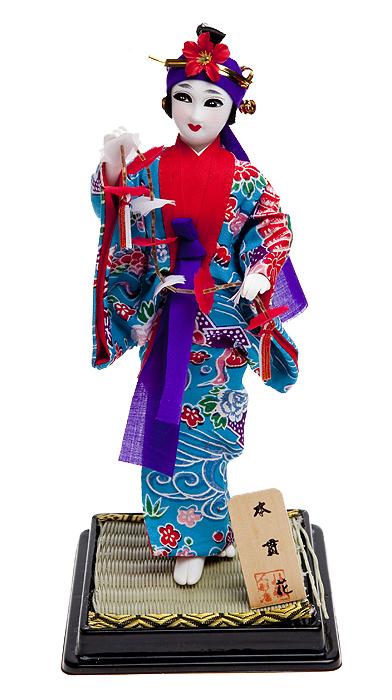 Кукла декоративная Гейша. Ткань, пластик, дерево, ручная работа. Япония, конец ХХ века брызговики передние novline autofamily lada largus cross 2012