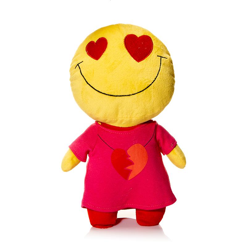 Maxi Toys Мягкая кукла Смайл ЛюбовьMT-TS291102-30Мягкая игрушка Смайл: Любовь, выполненная в виде влюбленного человечка-смайлика, вызовет умиление и улыбку у каждого, кто ее увидит. Игрушка изготовлена из мягкого, приятного на ощупь искусственного меха с наполнителем из гипоаллергенного полиэфирного волокна. Удивительно мягкая игрушка принесет радость и подарит своему обладателю мгновения нежных объятий и приятных воспоминаний. Великолепное качество исполнения делают эту игрушку чудесным подарком к любому празднику. Такой смайлик станет замечательным подарком как ребенку, так и взрослому. Характеристики: Материал игрушки: трикотаж, искусственный мех. Наполнитель: полое полиэфирное волокно. Высота игрушки: 30 см. Цвет: желтый, красный. Артикул: MT-TS291102-30.