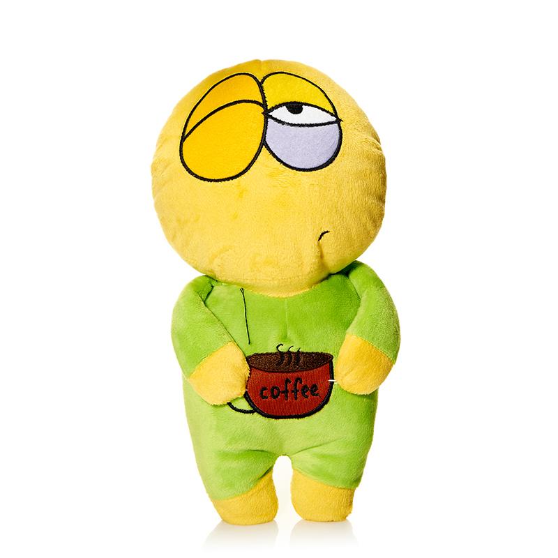 Maxi Toys Мягкая кукла Смайл Устал-хочу спать