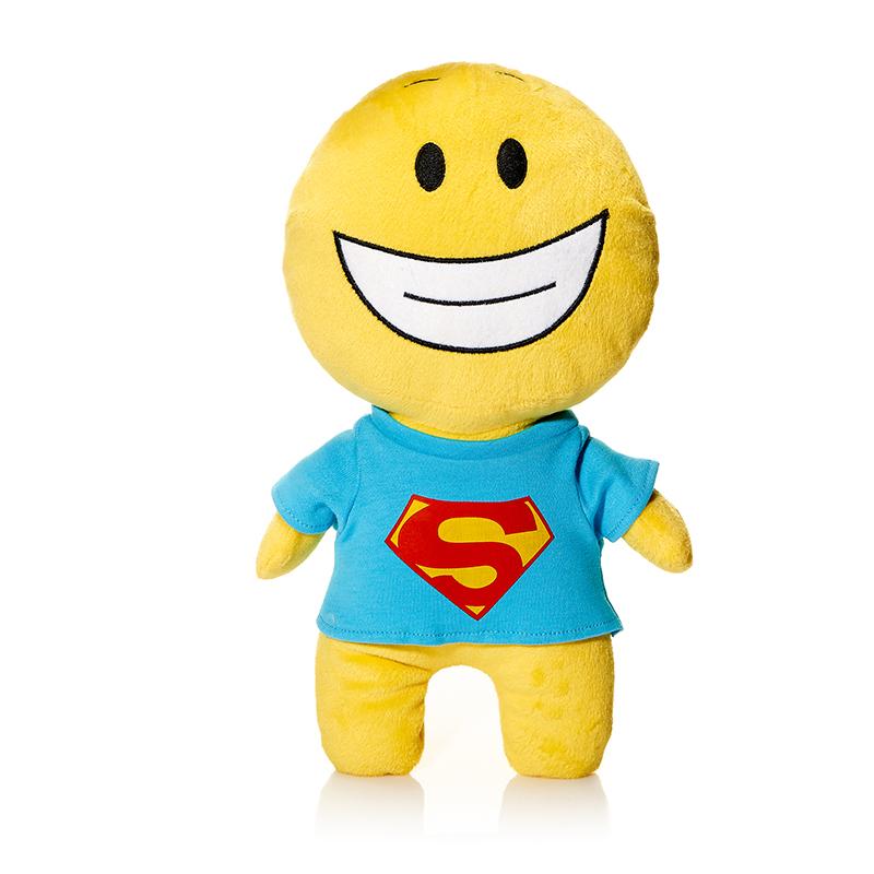 Maxi Toys Мягкая кукла Смайл Супермен
