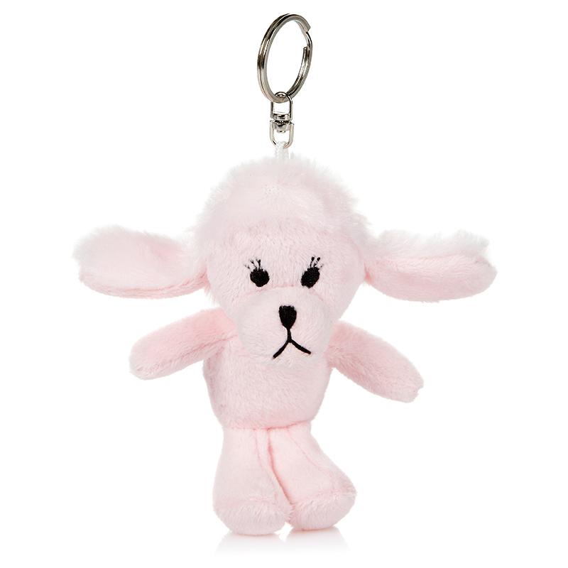 Мягкая игрушка-брелок Пудель Амми, 11 смMT-BR011312-11Мягкая игрушка-брелок Пудель Амми всегда будет с вами! С помощью карабина, игрушку можно пристегнуть на пояс, к рюкзаку, сумке или повесить на связку ключей. Удивительно мягкая игрушка-брелок, выполненная в виде розовой собачки, принесет радость своему обладателю. Это отличный подарок как для детей, так и для взрослых!