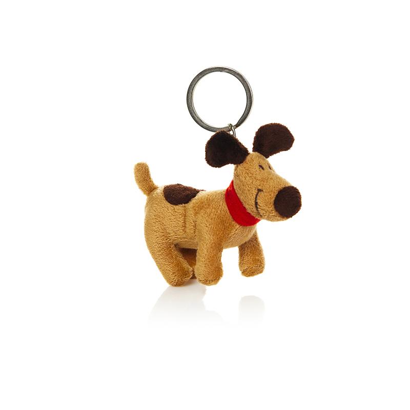 Мягкая игрушка-брелок Собака Пинчи, 9 смMT-BR011322-9Мягкая игрушка-брелок Собака Пинчи всегда будет с вами! Игрушка-брелок выполнена из трикотажа в виде милой собачки с плоским качественным металлическим кольцом для крепления ключей. Также игрушку можно пристегнуть к рюкзаку или сумке. Это отличный подарок как для детей, так и для взрослых!