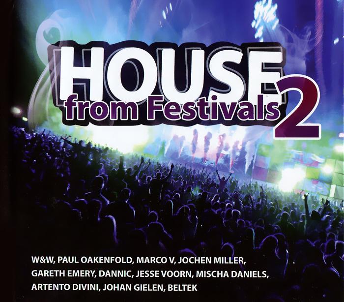 House From Festivals 2 (4 CD) 2013 4 Audio CD