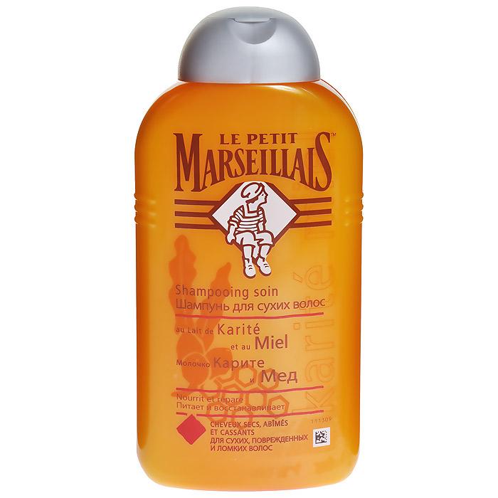 Le Petit Marseillais Шампунь Молочко карите и мед, для сухих волос, 250 мл72062Шампунь Le Petit Marseillais Молочко карите и мед питает и восстанавливает. Молочка каритэ известно своими увлажняющими свойствами. Мед обладает питательными и смягчающими свойствами. Характеристики: Объем: 250 мл. Артикул: 03034100. Производитель: Франция. Товар сертифицирован.