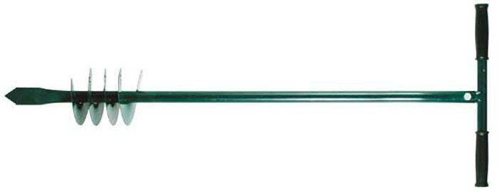 Бур садовый шнековый FIT, 110 см х 15 см77245Бур садовый шнековый FIT представляет собой ручной инструмент для бурения грунта. Он создает скважины для установки опор, столбов, заборов, а также может применяться для выкапывании лунок под посадку. Применяется на садовых участках. Бур изготовлен из инструментальной стали, поэтому отличается высокой прочностью и долгим сроком службы.