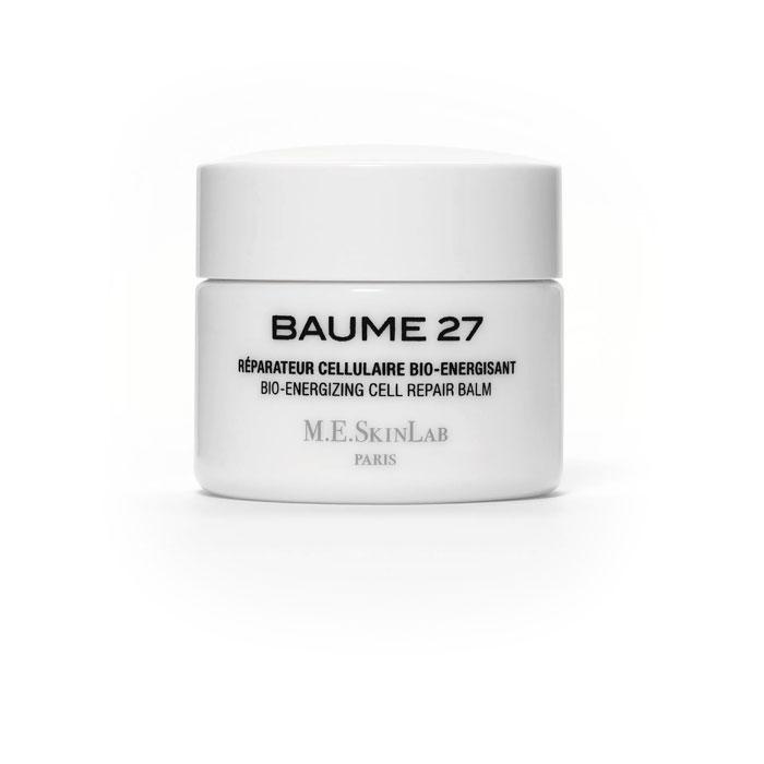 Cosmetics 27 Био-энергетический бальзам Baume 27 для лица, восстанавливающий, 50 млCM27001Био-энергетический бальзам Baume 27 является отличным средством для борьбы с признаками старения. Эмульсия, структура которой очень похожа на структуру кожи, обеспечивает отличное проникновение ингредиентов. Быстро и полностью поглощается кожей. Подтягивает и укрепляет клеточные ткани, воздействуя на связи между дермальными и эпидермальными слоями кожи, восстанавливая структуру и сообщение протеинов. Защищает кожу, действуя против свободных радикалов и окисляющих агентов, а также клеточного, физиологического и вынужденного стресса (UVB лучи). Смягчает и успокаивает кожу, подверженную воздействию стресса и агрессивных факторов среды или склонную к аллергическим реакциям, воздействуя на медиаторы воспалительных процессов. Результат: кожа выглядит и чувствует себя обновленной, здоровой и молодой. Становится более плотной. Тон кожи значительно более сияющий. Морщины смягчаются и становятся менее заметными. Баланс кожи восстанавливается, кожа тонизируется и смягчается. Результат...