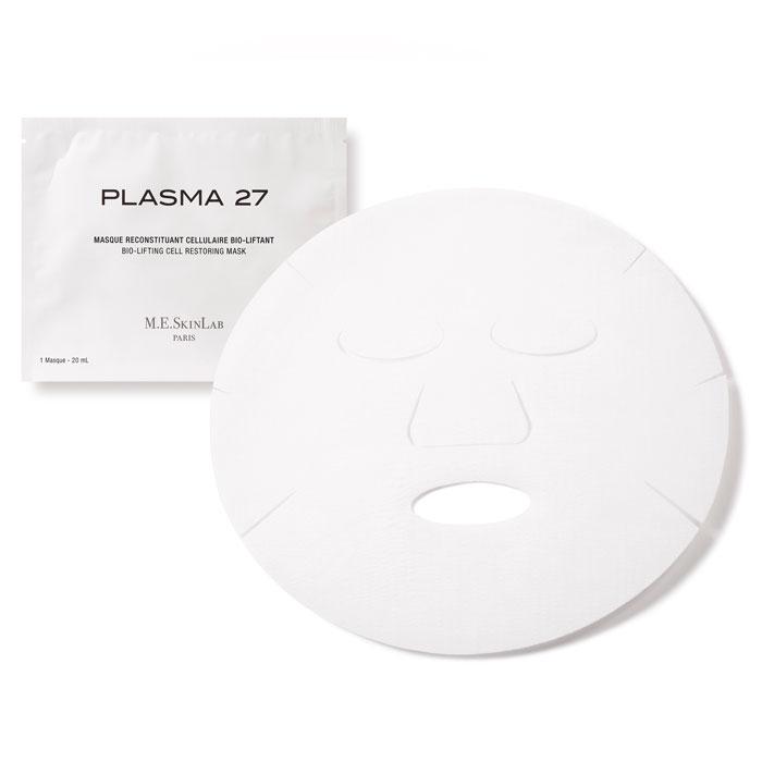 Cosmetics 27 Био-лифтинг маска Plasma 27 для лица, восстанавливающая, 4 х 23 млCM27007Кожа постоянно нуждается в интенсивном регенерирующем уходе, который нормализует ее баланс и восстановит функции клеток. Маска Plasma 27 восстанавливает кожу, регенерирует и перестраивает ткани кожи. Стимулирует синтез коллагена. Осветляет тон кожи и придает ей сияние. Подтягивает кожу лица, увлажняет и смягчает. Маска содержит 99% ингредиентов натурального происхождения. Экстракт центеллы в форме фитосом (липосомы, основанные на растительных экстрактах) и пролин (аминокислота) тонизируют вашу кожу, корректируют и заполняют морщины, уменьшают признаки старения. Экстракт календулы, бисаболол в соединении с салатом-латуком, мелиссы лимонной и дистиллированной водой смягчают кожу и избавляют от последствий стресса. Экстракт чайного грибка комбуча эффективно выводит токсины, оказывает дренажный эффект, противодействует застою крови и появлению гематом. Значительно снижает активность желчных пигментов, отвечающих за зеленоватый цвет кругов под глазами. Экстракт гречихи стимулирует...