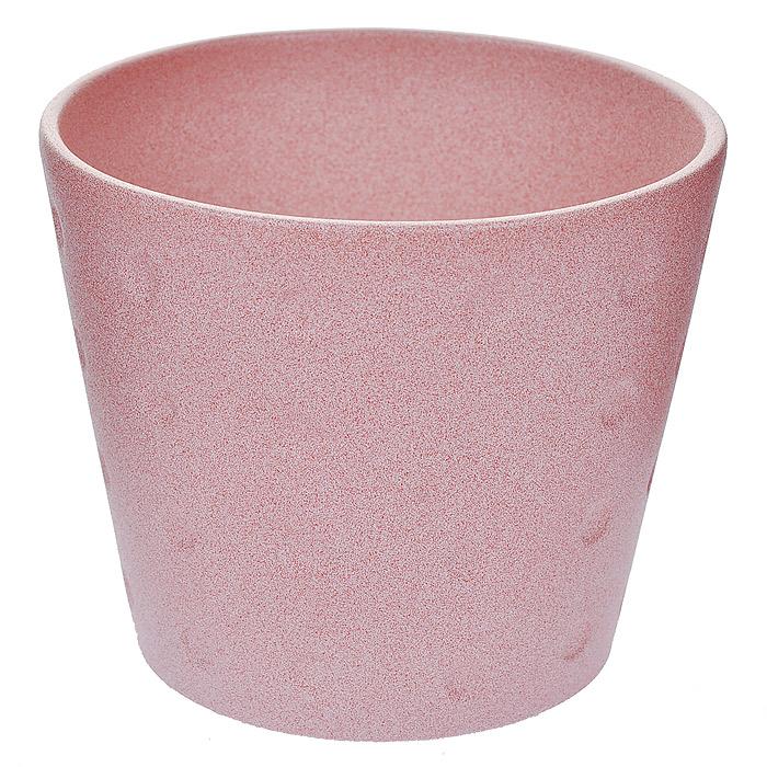 Кашпо для цветов Almas, цвет: розовый, 0,7 л, диаметр 12 смПт 88512917Кашпо Almas, выполненное из керамики розового цвета, прекрасно подойдет для небольших комнатных растений и ярко оформит интерьер вашего дома или офиса.