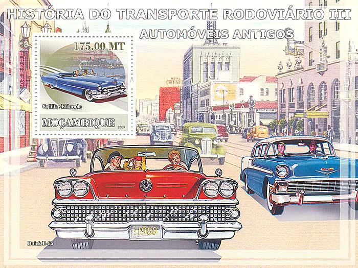 Почтовый блок № 3 из серии История транспорта. Мозамбик. 2009 годL2070 EПочтовый блок № 3 из серии История транспорта. Мозамбик. 2009 год. Размер 14,1 х 10,6 см. Сохранность хорошая.