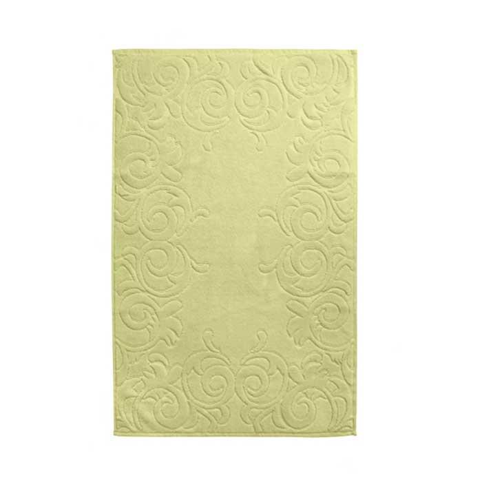 Коврик для ванной Tete-a-Tete, цвет: лайм, 50 см х 80 смТ-МК-26Махровый коврик для ванной Tete-a-Tete изготовлен из натурального хлопка. Коврик выполнен в нежном пастельном светло-зеленом цвете. Дайте своим ступням почувствовать качество и мягкость во всех их проявлениях. Рельефная фактура этого коврика позволит вам наслаждаться приятным массажем, каждый раз посещая ванную комнату. Благодаря стильному изысканному дизайну, коврик является настоящей находкой для тех, кто предпочитает демонстрировать свой отменный вкус в каждой детали интерьера. Характеристики: Материал: 100% хлопок. Цвет: лайм. Размер: 50 см х 80 см. Артикул: Т-МК-26.