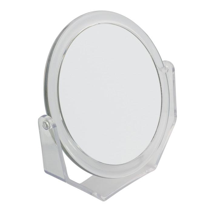 Beiron Зеркало косметическое, настольное, двустороннее. 530-1129 в ассортименте530-1129Косметическое зеркало Beiron в пластиковой оправе идеально подходит для утреннего туалета и макияжа, где бы вы ни были. С одной стороны обычное зеркало, с другой - с 2-х кратным увеличением.