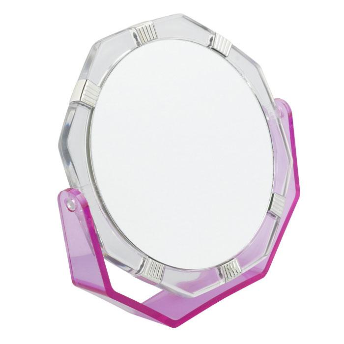Beiron Зеркало косметическое, настольное, двустороннее. 530-1138 в ассортименте530-1138Косметическое зеркало Beiron в пластиковой оправе идеально подходит для утреннего туалета и макияжа, где бы вы ни были. С одной стороны обычное зеркало, с другой - с 2-х кратным увеличением.
