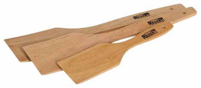 Набор лопаток Bosco, 3 шт93-BO-5-02Набор Bosco состоит из трех лопаток, выполненных из натурального дерева гевеи. Набор лопаток станет незаменимым помощником на кухне, поскольку он состоит из двух одинаковых лопаток и одной лопатки меньшего размера. Набор замечательно подходит для варки, выпечки и жарки во всех видах посуды. На ручках лопаток имеется специальное отверстие для подвешивания на крючок. Характеристики: Материал: дерево (гевея). Размер упаковки: 28,5 см х 5,5 см х 1,5 см. Артикул: 93-BO-5-02. В комплект входит: Лопатка - 2 шт. Размер (Д х Ш х Г): 28 см х 5 см х 0,5. Лопатка - 1 шт. Размер (Д х Ш х Г): 19,5 см х 4 см х 0,5.