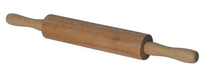 Скалка двуручная Bosco, 42 см93-BO-5-05Двуручная скалка Bosco, выполненная из натурального дерева гевея, предназначена для раскатывания теста. Древесина гевеи обладает повышенной прочностью, влагонепроницаемостью, а также легкостью. Эргономичные ручки и идеально ровная поверхность валика делают работу быстрой и приятной. Теперь вам не потребуется много усилий, чтобы раскатать тесто. Характеристики: Материал: дерево (гевея). Длина скалки: 42 см. Диаметр валика скалки: 5 см. Размер упаковки: 42 см х 5 см х 5 см. Производитель: Италия. Артикул: 93-BO-5-05.