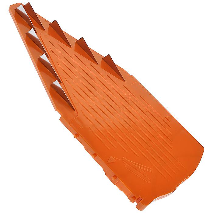 Вставка к овощерезке Borner V-Прима, цвет: оранжевый, 10 мм