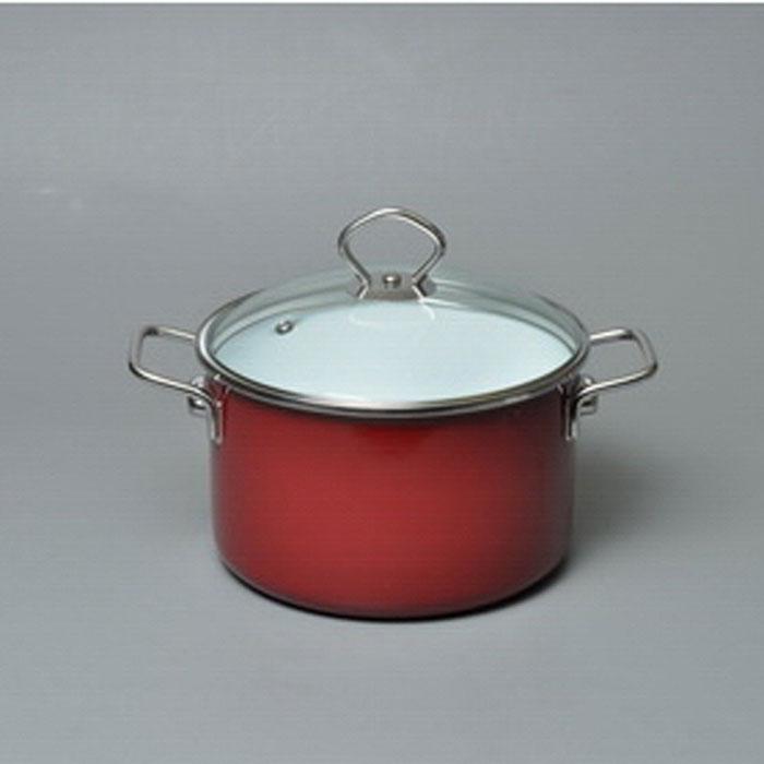 Кастрюля эмалированная Vitross Bon Appetit с крышкой, цвет: белый, вишневый, 1,5 л8SB165S, вишневыйКастрюля Vitross Bon Appetit изготовлена на стальной основе со стеклокерамическим покрытием - наиболее безопасный вид посуды. Стеклокерамика инертна и устойчива к пищевым кислотам, не вступает во взаимодействие с продуктами и не искажает их вкусовые качества. Прочный стальной корпус обеспечивает эффективную тепловую обработку пищевых продуктов, не деформируется с процессе эксплуатации. Посуда Vitross идеально подходит для тепловой обработки и хранения пищевых продуктов, приготовления холодных блюд и сервировки стола. Кастрюля оснащена двумя удобными ручками из нержавеющей стали. Крышка, выполненная из термостойкого стекла, позволит вам следить за процессом приготовления пищи. Крышка плотно прилегает к краю кастрюли, предотвращая проливание жидкости и сохраняя аромат блюд. Изделие подходит для всех типов плит, включая индукционные. Можно мыть в посудомоечной машине. Это идеальный подарок для современных хозяек, которые следят за своим здоровьем и здоровьем своей...