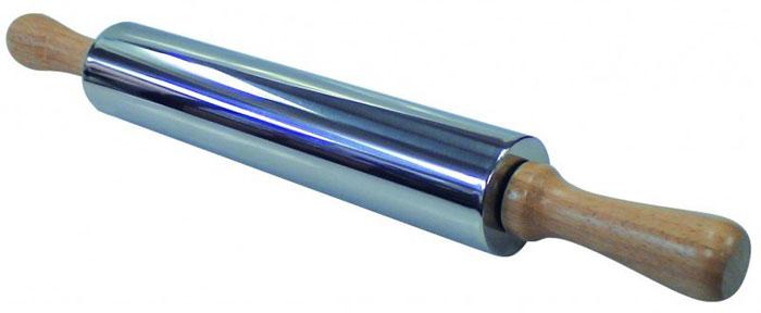 Скалка Regent Inox из нержавеющей стали93-AC-PR-11Скалка Regent Inox, выполненная из нержавеющей стали, предназначена для раскатывания теста. Эргономичные подвижные деревянные ручки и вращающийся валик делают работу быстрой и приятной. Теперь вам не потребуется много усилий, чтобы раскатать тесто.