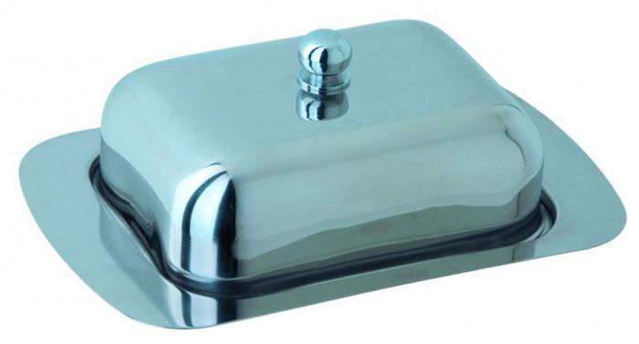 Масленка Regent Inox Desco. 93-DE-BB-0193-DE-BB-01Масленка Regent Inox Desco с крышкой изготовлена из экологически чистой высококачественной нержавеющей стали 18/10 с зеркальной полировкой. Она предназначена для красивой сервировки и хранения масла. Масленка обладает оригинальным, современным дизайном, простотой в сипользовании, лёгкостью в уходе. Такая масленка прекрасно подойдет для вашей кухни.