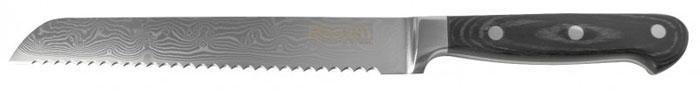 Нож хлебный Damasco, длина лезвия 20 см93-KN-DS-2Хлебный нож Linea Damasco выполнен из высококачественной дамасской стали, характеризующейся исключительной прочностью и износостойкостью. Рукоятка выполнена из дерева пакка, приятна на ощупь и не скользит в руке. Нож идеально режет хлеб и хлебобулочные изделия. Стильный дизайн, высокая прочность и удобство в использовании сделают данный нож незаменимым на вашей кухне. Изделие упаковано в подарочную коробку на магнитной защелке.
