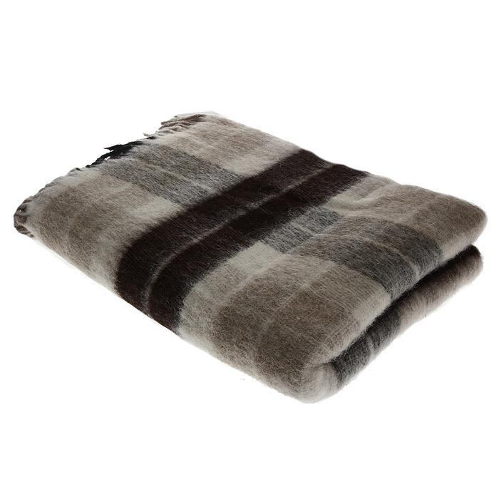 Плед Пиросмани, цвет: бежевый, темно-коричневый, 140 х 200 см. 1-206-140_031-206-140_03Мягкий и приятный плед Пиросмани изготовлен из 100% новозеландской овечьей шерсти. Плед добавит комнате уюта и согреет в прохладные дни. Такое теплое украшение может стать отличным подарком друзьям и близким! Под шерстяным пледом вам никогда не станет жарко или холодно, он помогает поддерживать постоянную температуру тела. Шерсть обладает прекрасной воздухопроницаемостью, она поглощает и нейтрализует вредные вещества и славится своими целебными свойствами. Плед из шерсти станет лучшим лекарством для людей, страдающих ревматизмом, радикулитом, головными и мышечными болями, сердечно-сосудистыми заболеваниями и нарушениями кровообращения. Шерсть не электризуется. Она прочна, износостойка, долговечна. Наконец, шерсть просто приятна на ощупь, ее мягкость и фактура вызывают потрясающие тактильные ощущения! Пиросмани - коллекция пледов с кистями, уменьшенной плотности из 100% натуральной новозеландской овечьей шерсти.