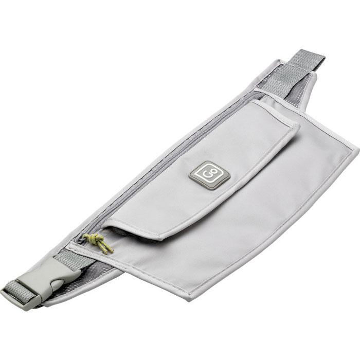 Бумажник Go travel на пояс, с водонепроницаемым отделением. 810 DG810 DGБумажник Go travel предназначен для хранения денег, документов и кредитных карт во время поездок. Бумажник выполнен из полиэстера и оснащен регулируемым ремешком для крепления к поясу. Имеет один карман на молнии, содержащий внутри два открытых кармашка, и отделение со вставкой из ПВХ, обладающее водонепроницаемыми свойствами. Отделение с водонепроницаемым чехлом закрывается клапаном на липучки. Идеален для тех кто часто путешествует: легкий и приятный на ощупь материал и компактные размеры позволяют надежно сохранить ваши документы от влаги, не занимая много места и не доставляя дискомфорта.