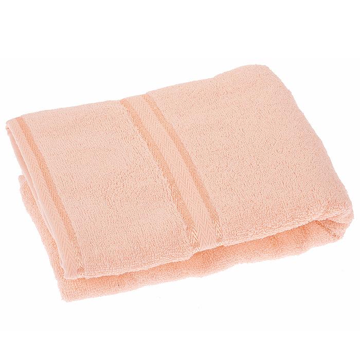 Полотенце махровое Орион, цвет: персиковый, 50 х 90 смCt4400509-27Махровое полотенце Орион, изготовленное из натурального хлопка, подарит массу положительных эмоций и приятных ощущений. Полотенце персикового цвета декорировано орнаментом. Полотенце отличается нежностью и мягкостью материала, утонченным дизайном и превосходным качеством. Оно прекрасно впитывает влагу, быстро сохнет и не теряет своих свойств после многократных стирок. Махровое полотенце Орион станет достойным выбором для вас и приятным подарком для ваших близких. Характеристики: Материал: 100% хлопок. Размер полотенца: 50 см х 90 см. Размер упаковки: 25 см х 23 см х 3 см. Плотность: 440 г/м2. Цвет: персиковый. Артикул: Ct4400509-27.
