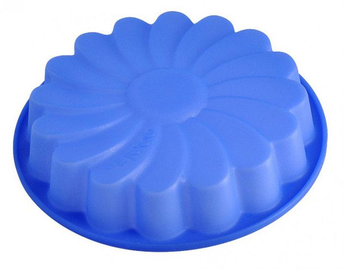 Форма для выпечки и заморозки Regent Inox Хризантема, силиконовая, цвет: синий, 24 см х 24 см х 4 см93-SI-FO-14Силиконовая форма для выпечки и заморозки продуктов предназначена для изготовления желе, льда, выпечки и т.д. Оригинальный способ подачи изделий не оставит равнодушным родных и друзей. Силиконовые формы Regent Inox Silicone выдерживают высокие и низкие температуры (от - 40 до + 230 градусов). Они эластичны, износостойки, легко моются, не горят и не тлеют, не впитывают запахи, не оставляют пятен. Силикон абсолютно безвреден для здоровья.