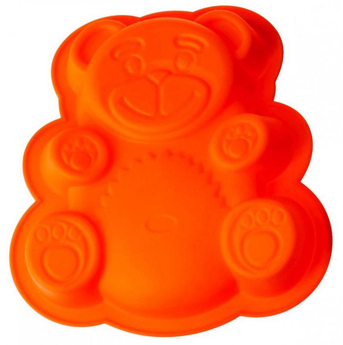 Форма для выпечки и заморозки Regent Inox Медвежонок, цвет: оранжевый, 26 см х 23,5 см х 4 см93-SI-FO-20Форма для выпечки и заморозки Regent Inox Медвежонок выполнена из силикона и предназначена для изготовления выпечки, желе и др. С помощью формы в виде забавного мишки любой день можно превратить в праздник и порадовать детей. Оригинальный способ подачи изделий не оставит равнодушными родных и друзей. Силиконовые формы выдерживают высокие и низкие температуры (от -40°С до +230°С). Они эластичны, износостойки, легко моются, не горят и не тлеют, не впитывают запахи, не оставляют пятен. Силикон абсолютно безвреден для здоровья. Не используйте моющие средства, содержащие абразивы. Можно мыть в посудомоечной машине. Подходит для использования во всех типах печей. Формы для выпечки и заморозки Regent Inox - отличный подарок! Они удобны и необходимы любой хозяйке!