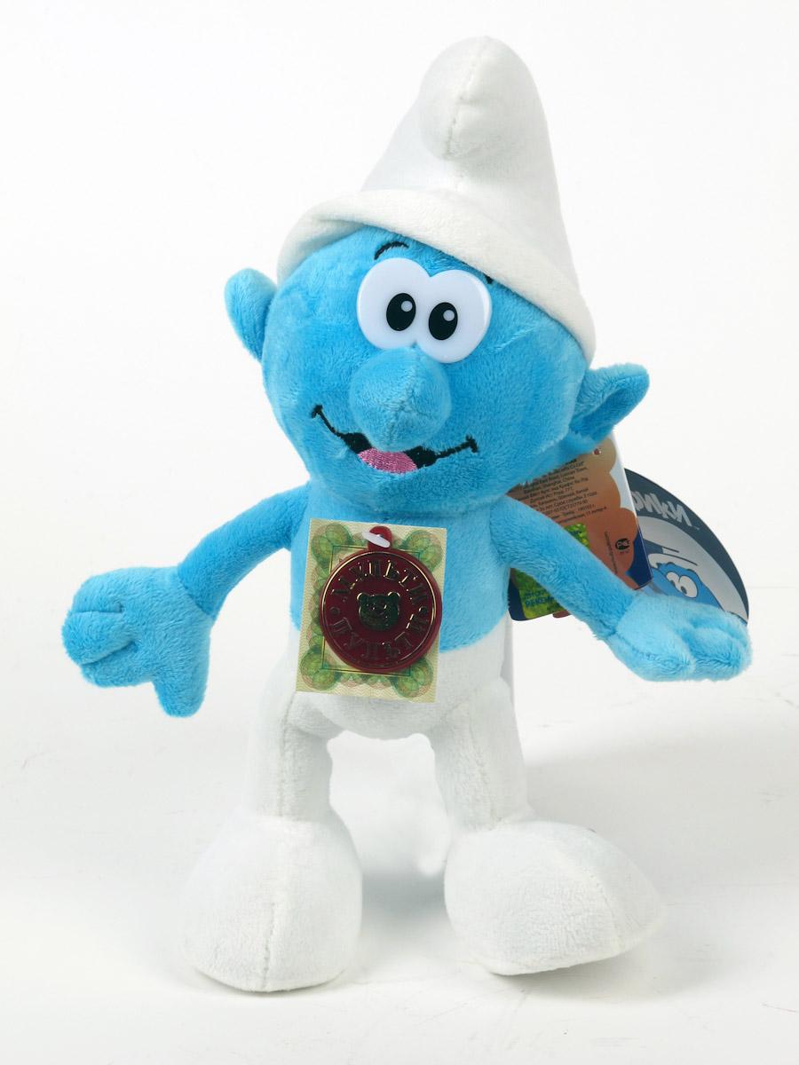 Мульти-Пульти Смурф. Мягкая говорящая игрушка, 26 см