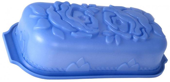 Форма для выпечки и заморозки Regent Inox Анастасия, силиконовая, цвет: синий, 34 см х 16 см93-SI-FO-32Форма для выпечки и заморозки Анастасия выполнена из силикона и предназначена для изготовления выпечки, желе, льда и даже мыла. С помощью формы любой день можно превратить в праздник и порадовать детей. Силиконовые формы выдерживают высокие и низкие температуры (от -40°С до +230°С). Они эластичны, износостойки, легко моются, не горят и не тлеют, не впитывают запахи, не оставляют пятен. Силикон абсолютно безвреден для здоровья. Не используйте моющие средства, содержащие абразивы. Можно мыть в посудомоечной машине. Подходит для использования во всех типах печей.