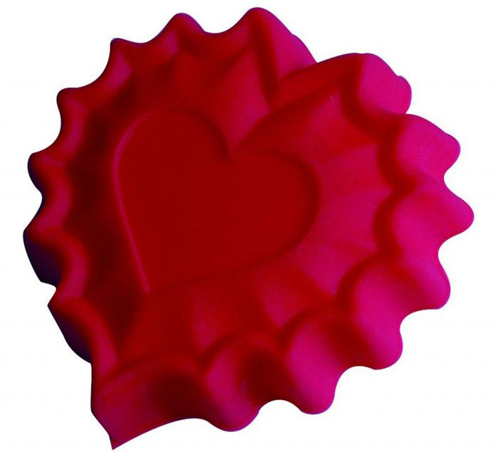 Форма для выпечки и заморозки Валентинка, силиконовая, цвет: розовый93-SI-FO-40Силиконовая форма для выпечки и заморозки продуктов предназначена для изготовления желе, льда, выпечки и т.д. Оригинальный способ подачи изделий не оставит равнодушным родных и друзей. Силиконовые формы Regent Inox Silicone выдерживают высокие и низкие температуры (от - 40 до + 230 градусов). Они эластичны, износостойки, легко моются, не горят и не тлеют, не впитывают запахи, не оставляют пятен. Силикон абсолютно безвреден для здоровья.