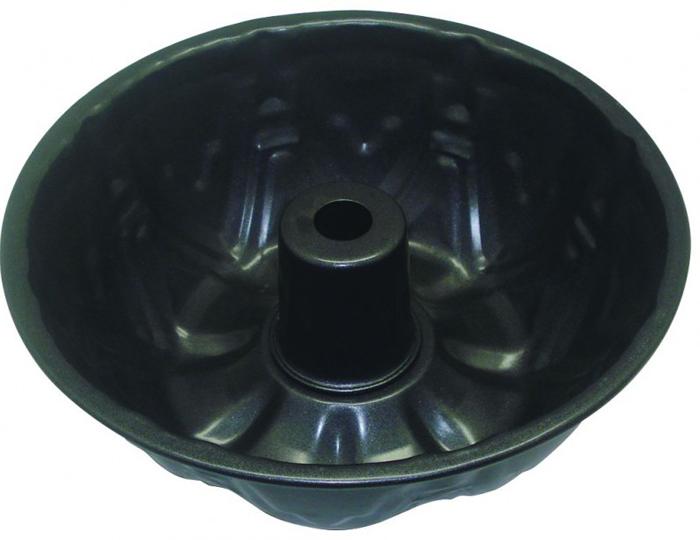 Форма для кекса Regent Inox Easy, с отверстием, 24 х 24 х 8,5 см93-CS-EA-4-11Круглая форма для выпечки Regent Inox Easy выполнена из высококачественной углеродистой стали и снабжена антипригарным керамическим покрытием, что обеспечивает форме прочность и долговечностью. Форма равномерно и быстро прогревается, что способствует лучшему пропеканию пищи. Данную форму легко чистить. Готовая выпечка без труда извлекается из формы. Форма подходит для использования в духовке с максимальной температурой 250°С. Перед каждым использованием форму необходимо смазать небольшим количеством масла. Чтобы избежать повреждений антипригарного покрытия, не используйте металлические или острые кухонные принадлежности. Можно мыть в посудомоечной машине.