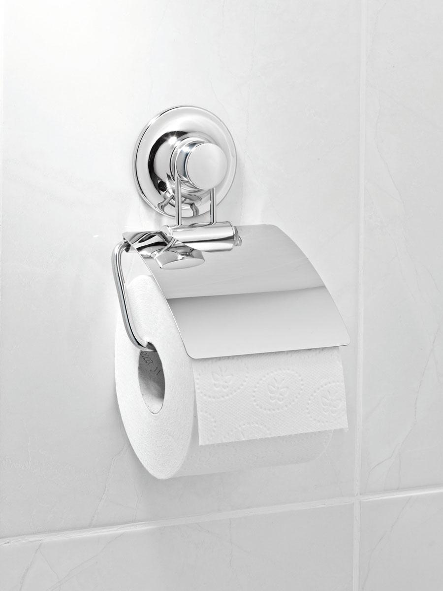Держатель для туалетной бумаги настенный Tatkraft Swiss Line, 72 мм10220-TKДержатель для туалетной бумаги настенный Tatkraft Swiss Line выполнен из хромированной стали. Быстро и легко устанавливается благодаря вакуумной присоске.