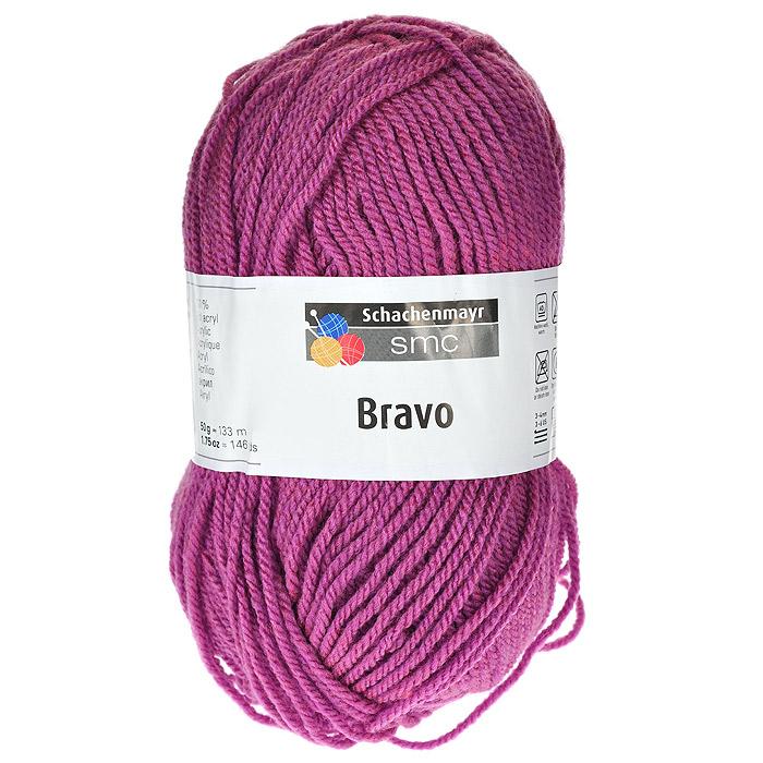 Пряжа для вязания Bravo, цвет: розовый (08289), 133 м, 50 г9801211-08289Пряжа для вязания Bravo, изготовленная из полиакрила розового цвета, очень мягкая и уютная. Эластичные полиакриловые волокна повышают прочность и износостойкость нити. Изделия из такой пряжи получаются очень теплыми, за ними легко ухаживать и можно стирать в машине. Кроме того, пряжа из полиакрила обладает гипоаллергенными свойствами. Подходит для вязания на крючках и спицах №3-4. В настоящее время вязание плотно вошло в нашу жизнь, причем не столько в виде привычных свитеров, сколько в виде оригинальных, изящных моделей из самой разнообразной пряжи. Поэтому так важно подобрать именно ту пряжу, которая позволит вам связать даже самую сложную и необычную модель изделия.