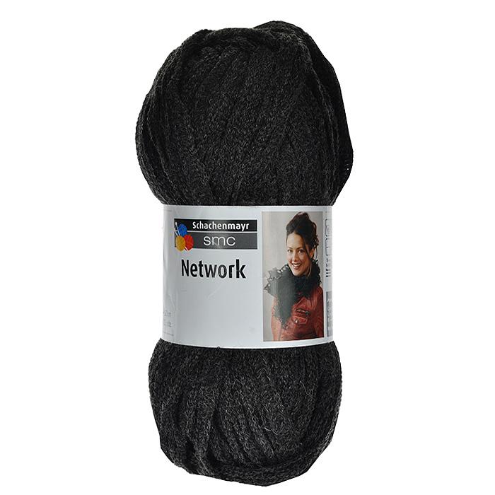 Пряжа для вязания Network, цвет: черно-серый (00098), 20 м, 100 г9807719-00098Пряжа для вязания Network, изготовленная из полиакрила и шерсти, относится к ленточной пряже. Нить толстая и имеет структуру, напоминающую паутину или сеть. Изделия из такой пряжи получаются очень теплыми и обладают гипоаллергенными свойствами. Стирать изделия из шерсти с добавлением полиакрила нужно бережно, при температуре, не превышающей 35 градусов. Подходит для вязания на крючках №5-6 и спицах №8-10.