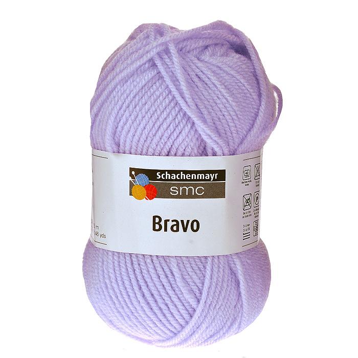 Пряжа для вязания Bravo, цвет: фиолетовый (08190), 133 м, 50 г9801211-08190Пряжа для вязания Bravo, изготовленная из полиакрила фиолетового цвета, очень мягкая и уютная. Эластичные полиакриловые волокна повышают прочность и износостойкость нити. Изделия из такой пряжи получаются очень теплыми, за ними легко ухаживать и можно стирать в машине. Кроме того, пряжа из полиакрила обладает гипоаллергенными свойствами. Подходит для вязания на крючках и спицах №3-4. В настоящее время вязание плотно вошло в нашу жизнь, причем не столько в виде привычных свитеров, сколько в виде оригинальных, изящных моделей из самой разнообразной пряжи. Поэтому так важно подобрать именно ту пряжу, которая позволит вам связать даже самую сложную и необычную модель изделия.