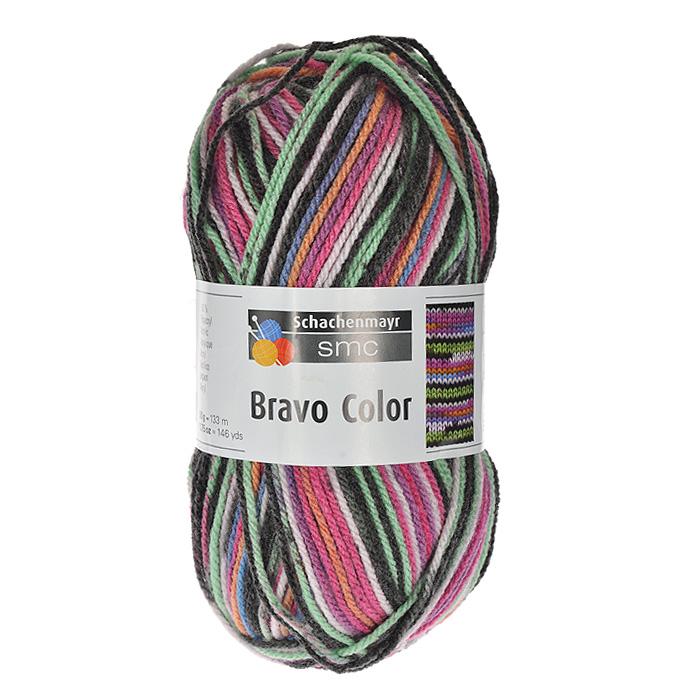 Пряжа для вязания Bravo Color, цвет: розовый, зеленый, черный (02094), 133 м, 50 г9801421-02094Пряжа для вязания Bravo Color из полиакрила с добавлением перекрученных между собой нитей разного цвета поможет вам создать оригинальную неповторимую вещь. Эластичные полиакриловые волокна повышают прочность и износостойкость нити. Изделия получаются теплыми и мягкими, за ними легко ухаживать и можно стирать в машине. Кроме того, пряжа из полиакрила обладает гипоаллергенными свойствами. Подходит для вязания на крючках и спицах №3-4. В настоящее время вязание плотно вошло в нашу жизнь, причем не столько в виде привычных свитеров, сколько в виде оригинальных, изящных моделей из самой разнообразной пряжи. Поэтому так важно подобрать именно ту пряжу, которая позволит вам связать даже самую сложную и необычную модель изделия.