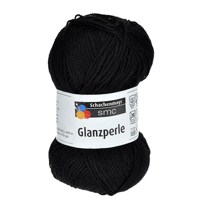 Пряжа для вязания Glanzperle, цвет: черный (01364), 200 м, 50 г9801241-1364Пряжа для вязания Glanzperle, изготовленная из полиакрила, очень мягкая и уютная. Пряжа из этого материала широко используется и представлена различными расцветками. Эластичные полиакриловые волокна повышают прочность и износостойкость нити. Изделия из такой пряжи получаются очень теплыми, за ними легко ухаживать и можно стирать в машине. Кроме того, пряжа из полиакрила обладает гипоаллергенными свойствами. Подходит для вязания на крючках и спицах №2-3.