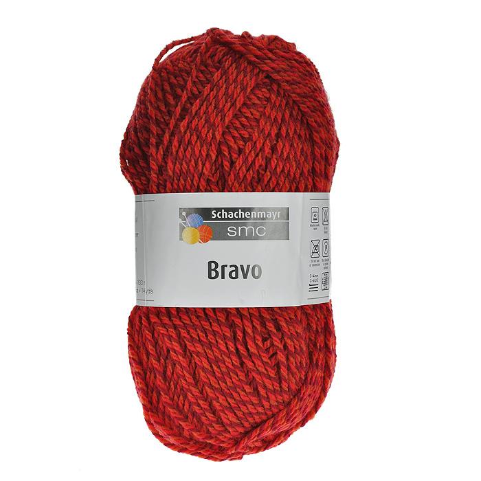 Пряжа для вязания Bravo, цвет: красный, бордовый (08189), 133 м, 50 г9801211-08189Пряжа для вязания Bravo, изготовленная из полиакрила, очень мягкая и уютная. Эластичные полиакриловые волокна повышают прочность и износостойкость нити. Изделия из такой пряжи получаются очень теплыми, за ними легко ухаживать и можно стирать в машине. Кроме того, пряжа из полиакрила обладает гипоаллергенными свойствами. Подходит для вязания на крючках и спицах №3-4. В настоящее время вязание плотно вошло в нашу жизнь, причем не столько в виде привычных свитеров, сколько в виде оригинальных, изящных моделей из самой разнообразной пряжи. Поэтому так важно подобрать именно ту пряжу, которая позволит вам связать даже самую сложную и необычную модель изделия.