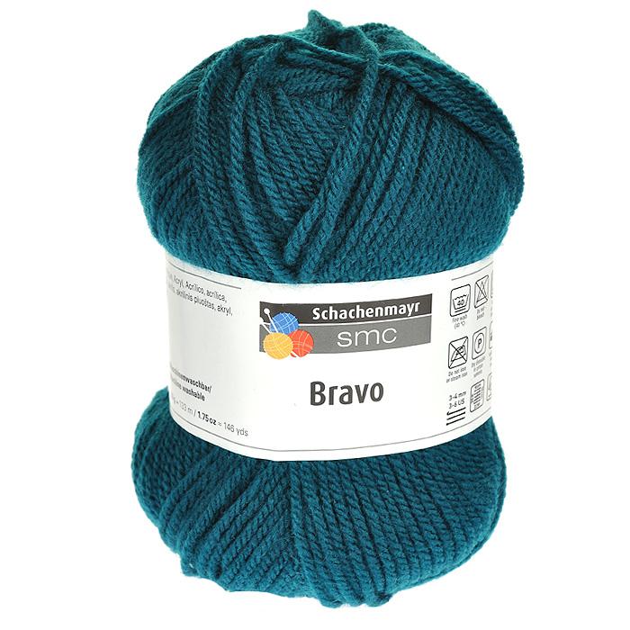 Пряжа для вязания Bravo, цвет: сине-зеленый (08308), 133 м, 50 г9801211-08308Пряжа для вязания Bravo из полиакрила сине-зеленого цвета поможет вам создать оригинальную неповторимую вещь. Эластичные полиакриловые волокна повышают прочность и износостойкость нити. Изделия получаются теплыми и мягкими, за ними легко ухаживать и можно стирать в машине. Кроме того, пряжа из полиакрила обладает гипоаллергенными свойствами. Подходит для вязания на крючках и спицах №3-4. В настоящее время вязание плотно вошло в нашу жизнь, причем не столько в виде привычных свитеров, сколько в виде оригинальных, изящных моделей из самой разнообразной пряжи. Поэтому так важно подобрать именно ту пряжу, которая позволит вам связать даже самую сложную и необычную модель изделия.