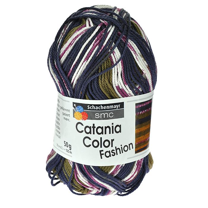 Пряжа для вязания Catania Color Fashion, цвет: синий, зеленый, белый, бордовый (00193), 125 м, 50 г9801780-00193Пряжа для вязания Catania Color Fashion, изготовленная из хлопка, имеет разноцветные нити розово-коричневых оттенков. Цвета плавно переходят один в другой, что очень удобно при вязании жаккардовым узором. Кроме того, нить имеет мерсеризованное (блестящее) покрытие. Хлопок - широко распространенная натуральная пряжа растительного происхождения. Его производят из волокон, покрывающих семена хлопчатника. Хлопковая нить очень легкая, мягкая и прочная. Пряжа из хлопка приятна на ощупь и не вызывает раздражений на коже. Подходит для вязания на крючках и спицах №2,5-3,5. В настоящее время вязание плотно вошло в нашу жизнь, причем не столько в виде привычных свитеров, сколько в виде оригинальных, изящных моделей из самой разнообразной пряжи. Поэтому так важно подобрать именно ту пряжу, которая позволит вам связать даже самую сложную и необычную модель изделия.