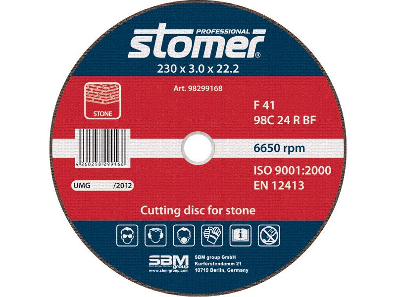 Диск отрезной Stomer, 230 мм, CS-230. 98299168