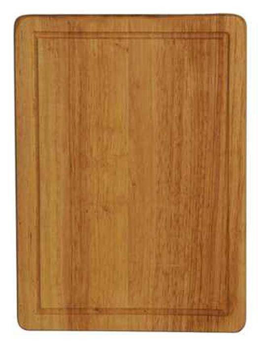 Доска разделочная Regent Inox, из гевеи, 31 х 22,5 х 1,5 см93-BO-2-03Прямоугольная разделочная доска Regent Inox изготовлена из высококачественной древесины - гевеи. Доска имеет углубление для стока жидкости вдоль края. Прекрасно подходит для приготовления и сервировки пищи. Гевея - высококачественная порода каучукового дерева. Доски из гевеи, по сравнению с досками, изготовленными из других материалов, обладают следующими преимуществами: - долговечность - практичность - устойчивость к механическим нагрузкам - водоотталкивающие свойства - не впитывают запахи - не расслаиваются и не рассыхаются - не тупят ножи - оригинальный дизайн. На кухне рекомендуется иметь несколько досок, для различных продуктов: для мяса и птицы, для рыбы, для готовых продуктов, для хлеба, овощей и фруктов. Regent Inox предлагает на выбор несколько размеров и форм разделочных досок, а так же кухонные аксессуары из дерева.