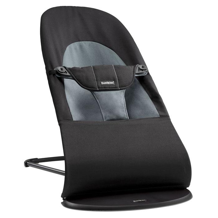 Кресло-шезлонг BabyBjorn Balance Soft, цвет: темно-серый