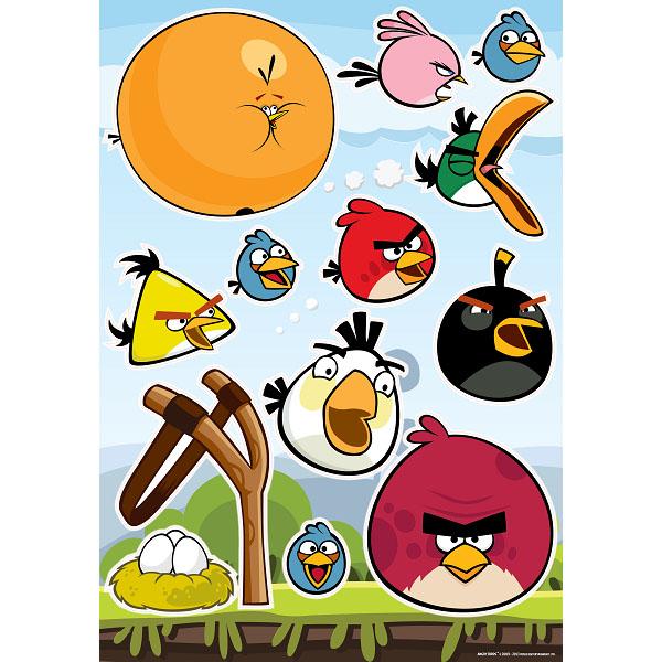 Украшение для стен и предметов интерьера Decoretto Птички начало. LA 6001LA 6001Украшение для стен и предметов интерьера Decoretto Птички начало, с изображением любимых героев компьютерной игры Angry Birds, поможет вам украсить любую комнату. Украшение состоит из 34 самоклеющихся элементов. Это украшение поможет вам разнообразить интерьер вашего дома и проявить индивидуальность. Наклейки идеально подойдут для детской комнаты. Забавные персонажи из мира Angry Birds поднимут настроение и не дадут скучать хозяевам и гостям дома. Преимущества украшений Decoretto: изготовлены из экологически безопасной самоклеющейся пленки с водоотталкивающей поверхностью; быстро и легко наклеиваются на виниловые и флизелиновые обои, плитку, стекла, мебель; при необходимости удобно снимаются, не оставляют следов и не повреждают поверхность (кроме бумажных обоев); если вы решите изменить композицию, то просто снимите наклейки и наклейте их в другом месте; специальный слой защищает поверхность от влаги и выгорания. ...
