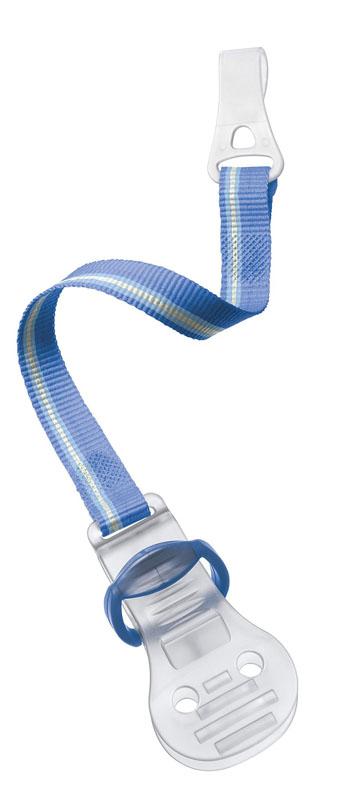 Philips Avent Клипса-держатель для пустышки голубой SCF185/00SCF185/00Клипса-держатель для пустышки Avent изготовлена из безвредного полипропилена без содержания BPA. С таким держателем вы сможете избежать ситуации, когда пустышка падает, теряется или становится грязной. Клипса-держатель Avent снабжена мягким текстильным ремешком, который прикрепляется к пустышке, а сама клипса легко пристегивается к нагруднику, одежде ребенка или коляске.