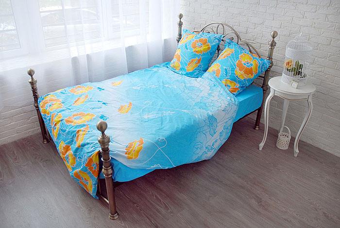 Комплект белья Маки (мини-евро КПБ, бязь, наволочки 70х70)Э-0725-01_мини-евроКомплект постельного белья Маки, изготовленный из натурального хлопка, поможет вам расслабиться и подарит спокойный сон. Постельное белье имеет изысканный внешний вид и обладает яркостью и сочностью цвета. Комплект состоит из простыни, пододеяльника и двух наволочек. Все предметы комплекта цельнокроеные. Благодаря такому комплекту постельного белья вы сможете создать атмосферу уюта и комфорта в вашей спальне. Бязь - 100 % хлопок, хлопчатобумажная ткань полотняного переплетения. Ткань прочная, мягкая, имеет внешний вид одинаковый с лицевой и изнаночной стороны. Обладает низкой сминаемостью, легко стирается и хорошо гладится. При соблюдении рекомендуемых условий стирки, сушки и глажения ткань имеет усадку по ГОСТу, сохраняется яркость текстильных рисунков. Страна: Россия. Материал: бязь (100% хлопок). В комплект входят: Пододеяльник - 1 шт. Размер: 200 см х 220 см. Простыня - 1 шт. Размер: 220 см х 240 см. Наволочка - 2 шт. Размер: ...